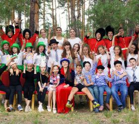 дети в летнем лингвистическом лагере