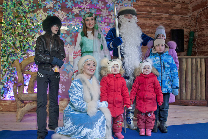 самарский дед мороз и снегурочка