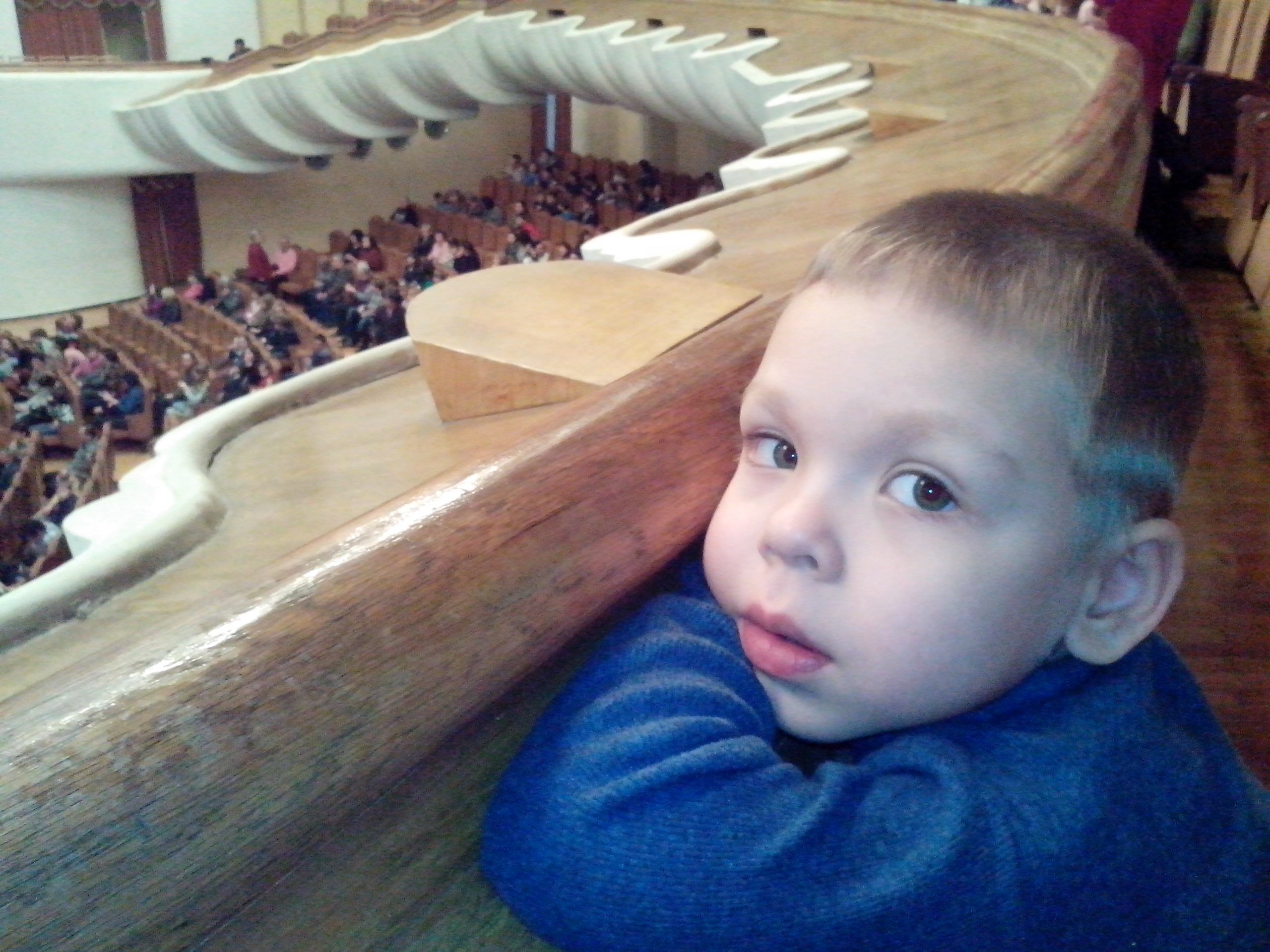Андрей в филармонии