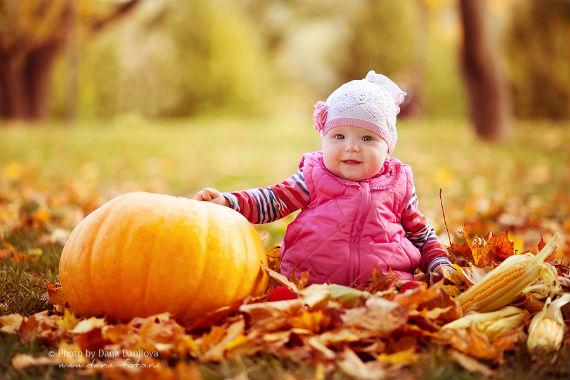 Картинки осенних фотосессий для деток