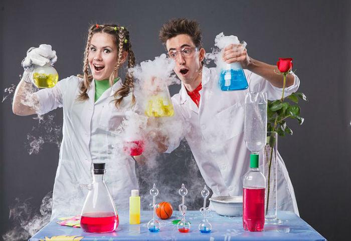 Веселые химики