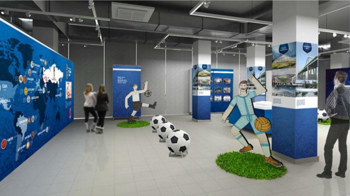 Футбольная выставка