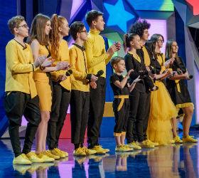 Самарская команда на сцене
