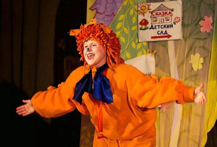 оранжевый ежик
