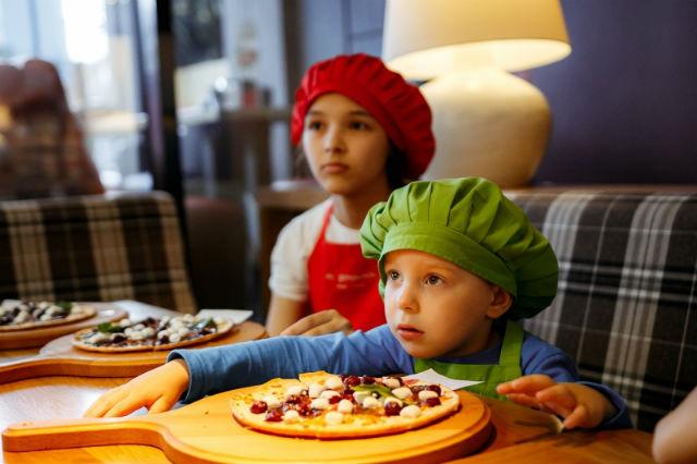 Мастер-класс по изготовлению пиццы