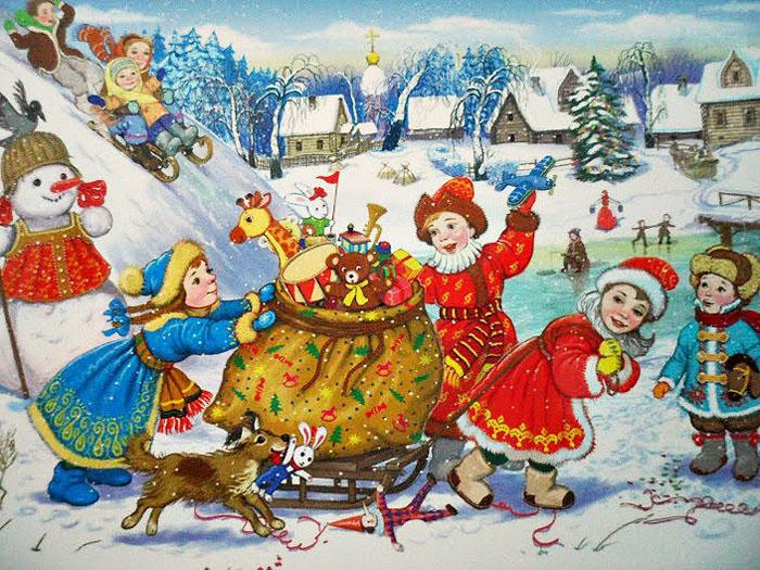 рождество в литмузее