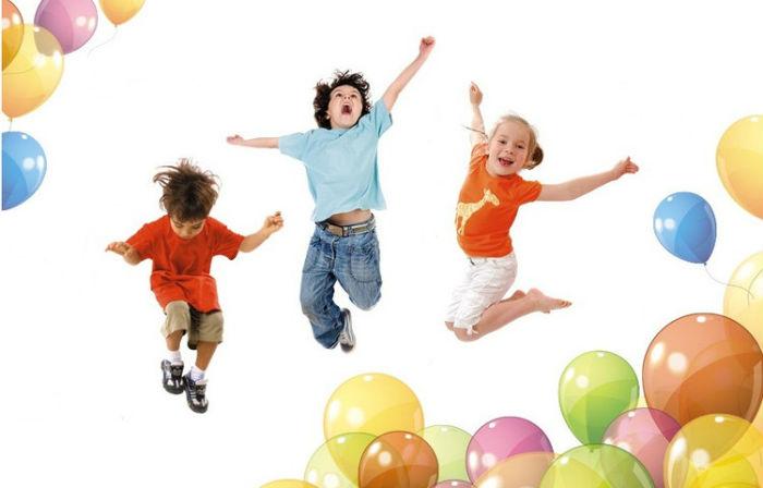 Дети и воздушные шары