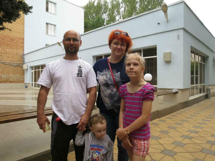 Семья Русских