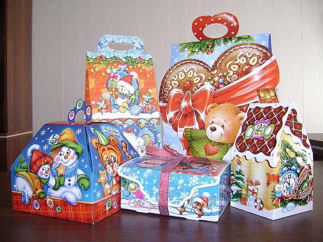 Подарки а новый год детям