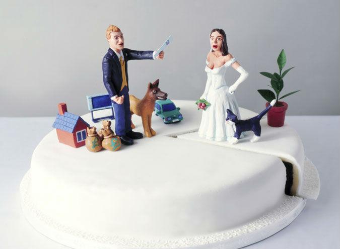 торт про развод