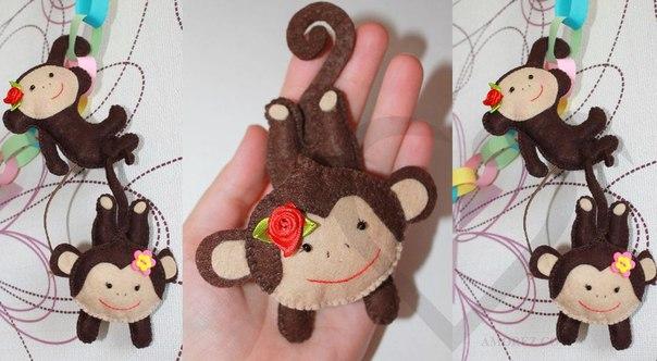 Год обезьяны 2016 своими руками