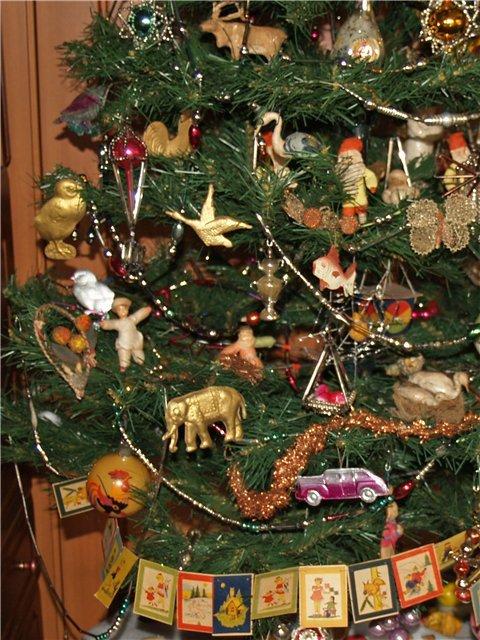 Как украшали елки в ссср фото