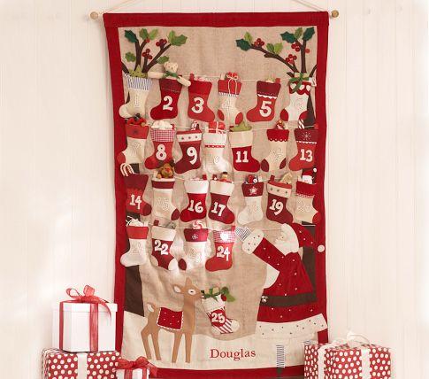 Рождественский календарь своими руками мастер класс