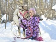 Алина и Снежинка