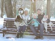 Зимняя прогулка в парке Гагарина