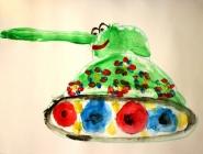 Праздничный танк