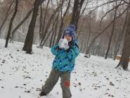 Я люблю играть в снежки