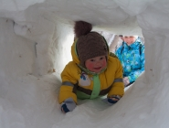 Я мороза не боюсь, по лабиринту проберусь!